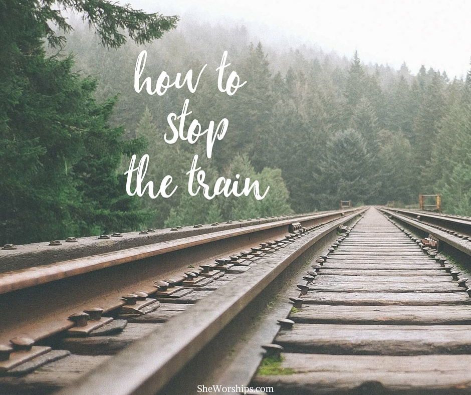 How to StoptheTrain